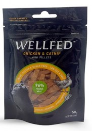 wellfed chicken and catnip fillets 50gr