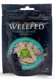 wellfed fish and catnip fillets 50gr