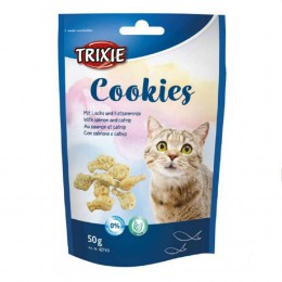 Trixie Cookies with salmon and catnip 50gr