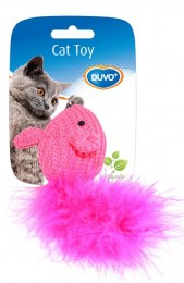 cat toy mouse with feather