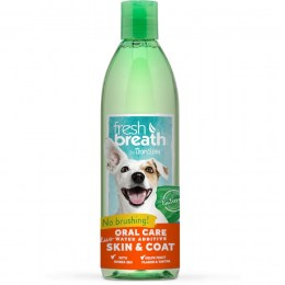 Tropiclean Fresh Breath Plus Skin & Coat Water Additive 473ml