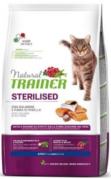 Natural Trainer Adult Sterilized (Salmon) 300gr