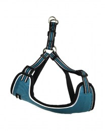 GOGET Soft Reflective Chest Harness L.Blue 1.5x41-51cm (Small)